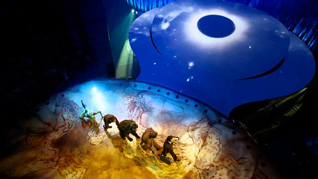 Цирк Дю Солей в Москве